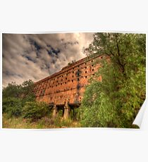 Man O War - Oil Shale Mine Ruins - Glen Davis - The Capertee Valley - The HDR Experience Poster