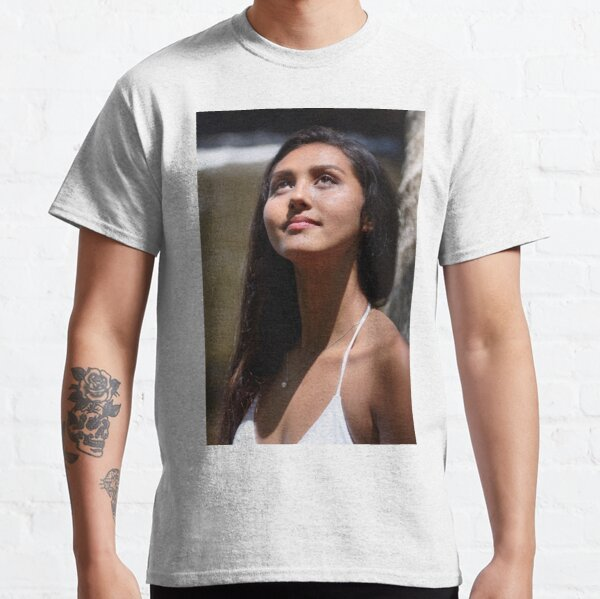 Hawaiian Beauty Portrait Classic T-Shirt