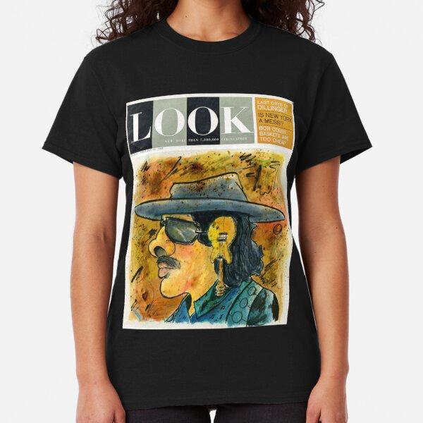Santana Latin Rock Caricature Fan Art  Classic T-Shirt