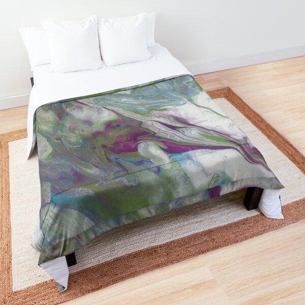 Purple Marble Comforter