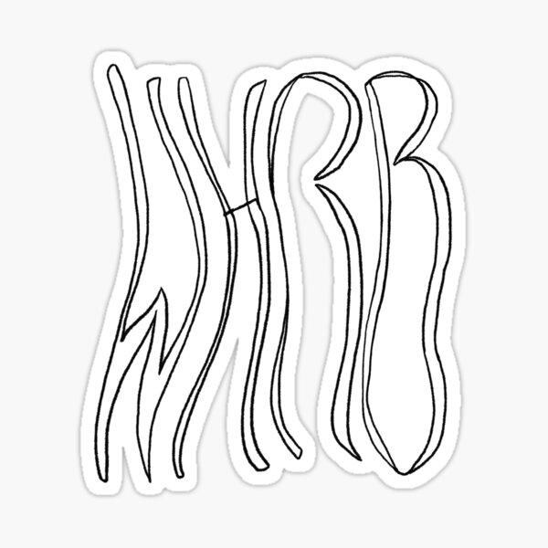 Wavy WHRB Sticker