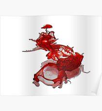 Exploded Heart Poster