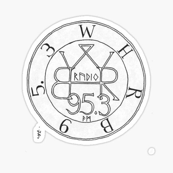 Sigil (White) Sticker