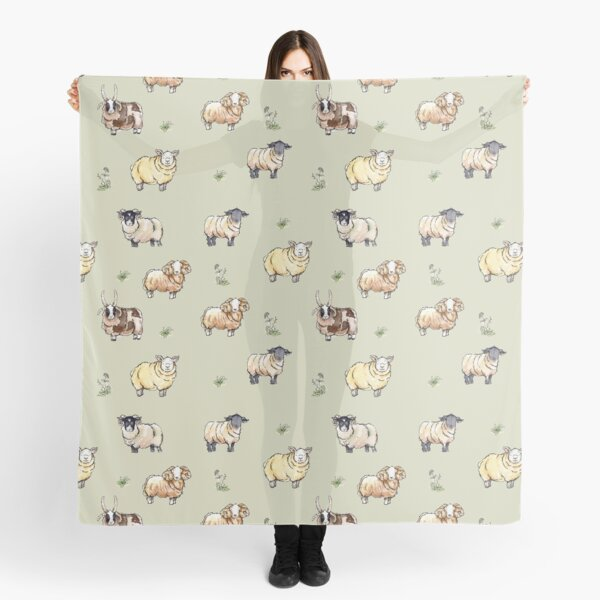 British Sheep Scarf