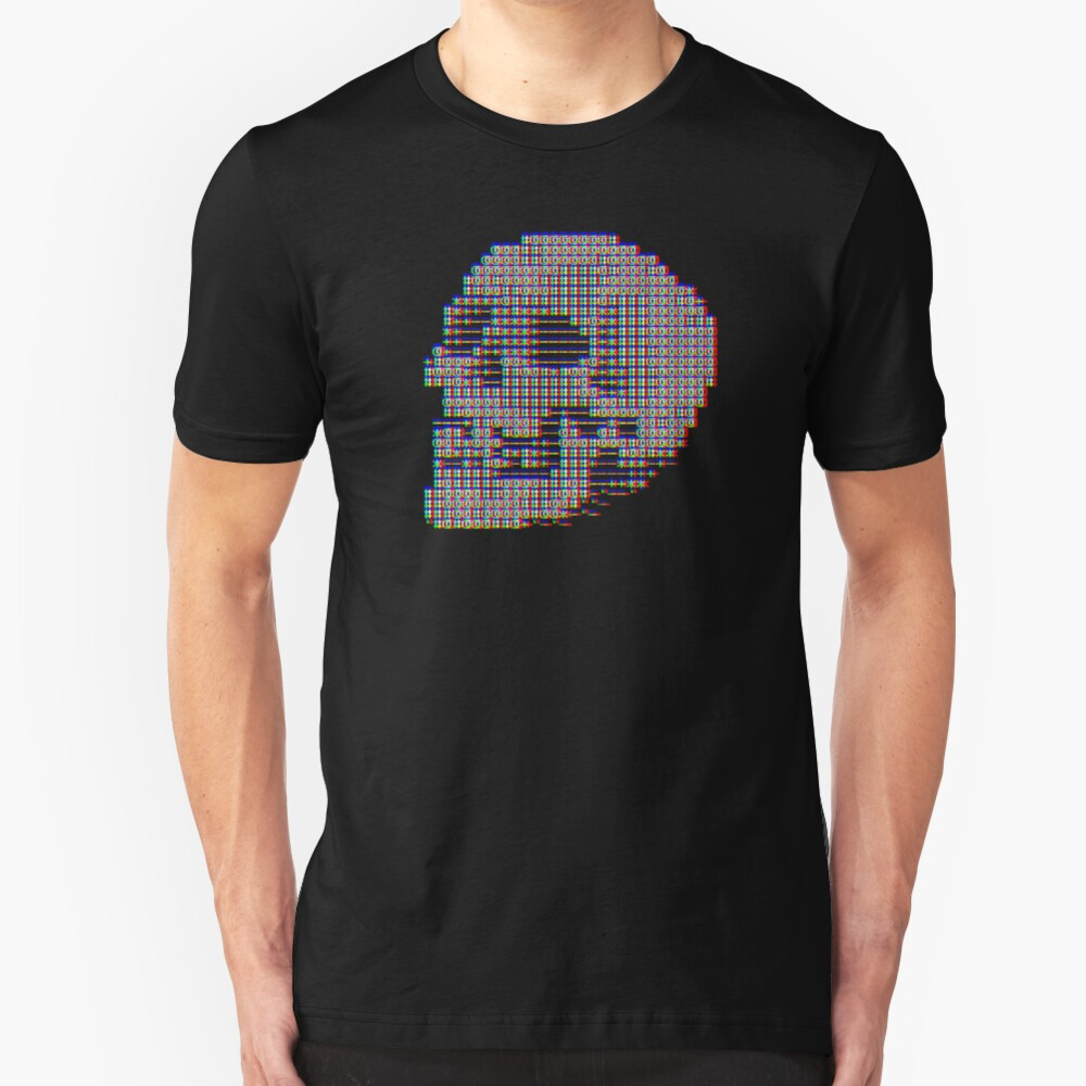 Skeleton Code Slim Fit T-Shirt