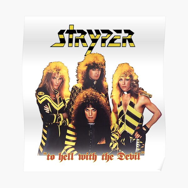 Stryper: To Hell With The Devil Poster