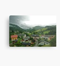 In the Valley - Austria Metal Print