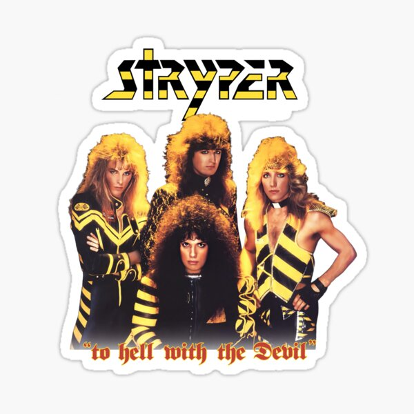 Stryper: To Hell With The Devil Sticker