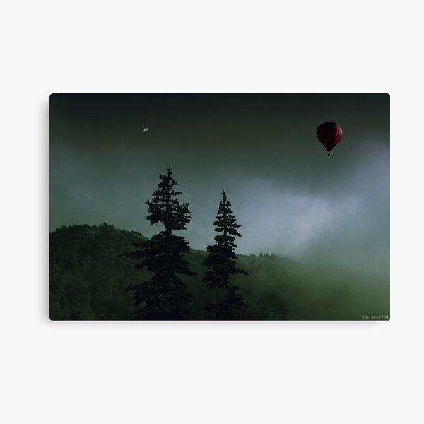 balloon over Whistler_ Canvas Print