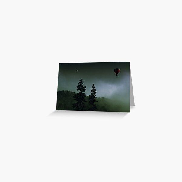 balloon over Whistler_ Greeting Card