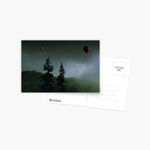 balloon over Whistler_ Postcard