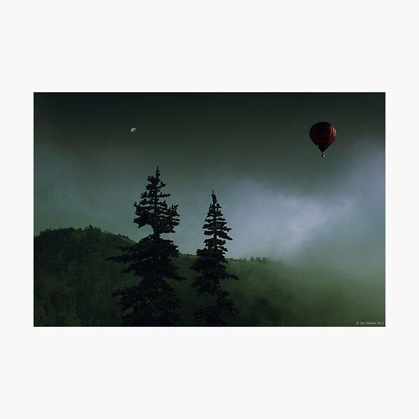 balloon over Whistler_ Photographic Print