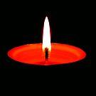 Single Flame ©  by Dawn Becker