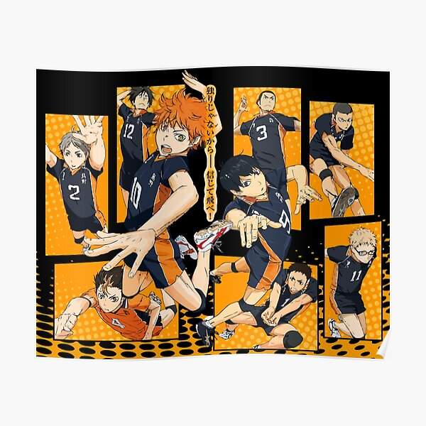 Haikyu!! Fly High! Volleyball!  Poster