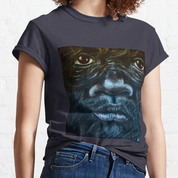 Sasquatch Boy On A Windy Day Classic T-Shirt