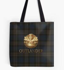 Outlander Plaid Tote Bag
