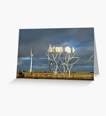 Spirit of the Staithes - Blyth, Northumberland Greeting Card