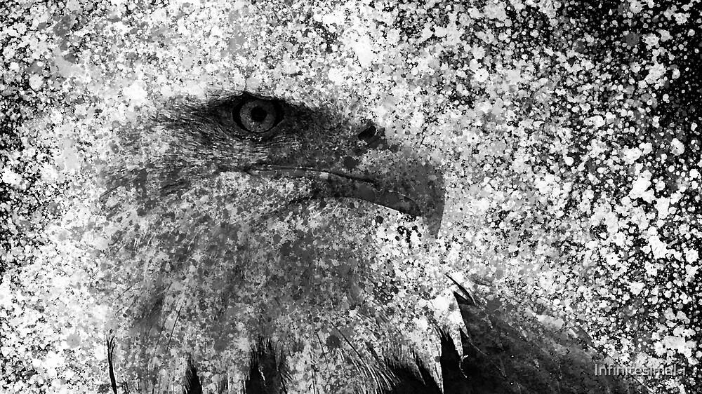Watercolor Eagle by Infinitesimal-i