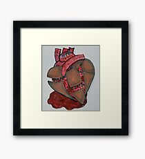 Armour Plated Heart Framed Print