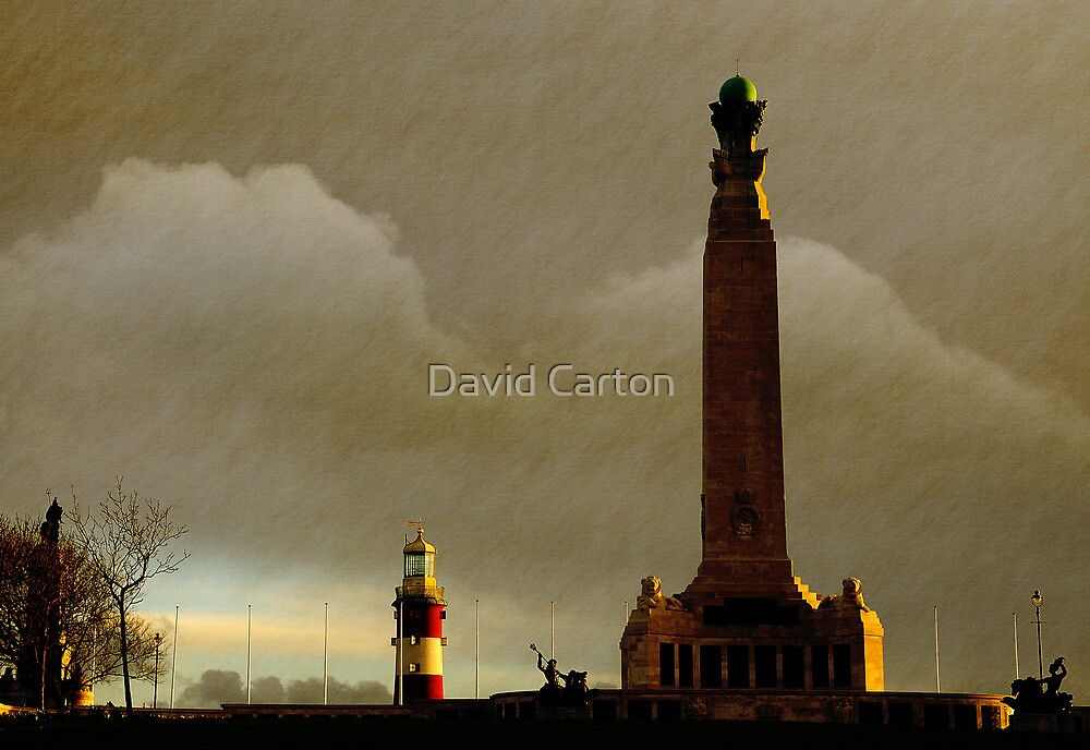 Plymouth Hoe at Dawn, Devon, UK  by David Carton