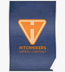Hitchhikers Improv (Creamsicle) Poster