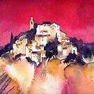 Rose Glow, Provence by artbyrachel