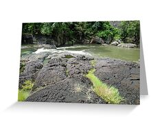 Tully River Rapids Greeting Card