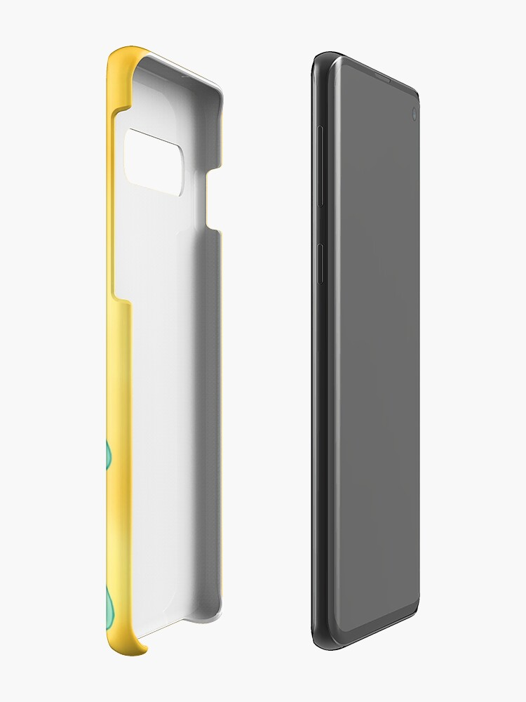 Alternate view of Bold and Brash Case & Skin for Samsung Galaxy