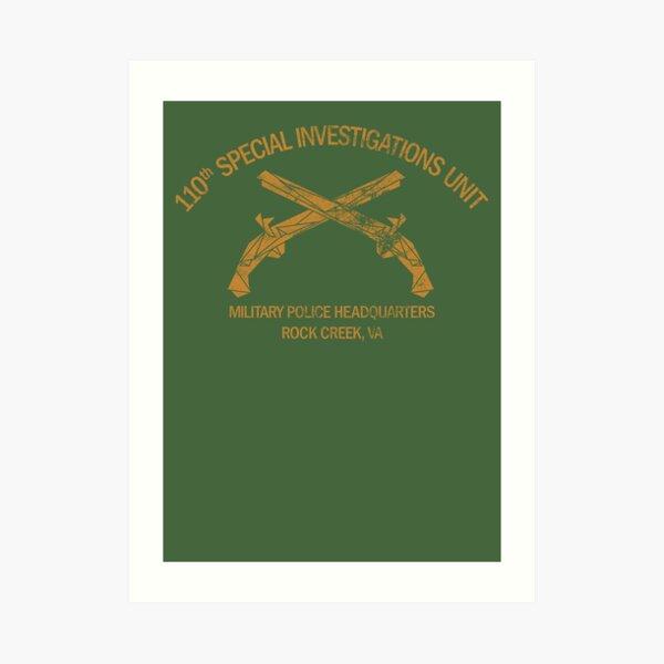 110th Special Investigations Unit Art Print