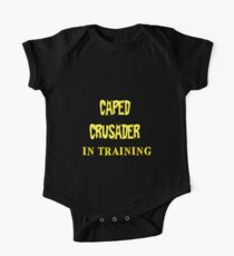 Caped Crusader IN TRAINING One Piece - Short Sleeve