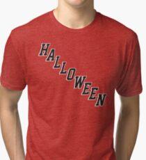 Halloween Jersey Style Tri-blend T-Shirt