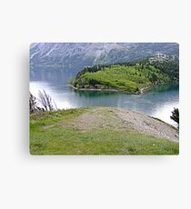 The Bosporus-Waterton Canvas Print