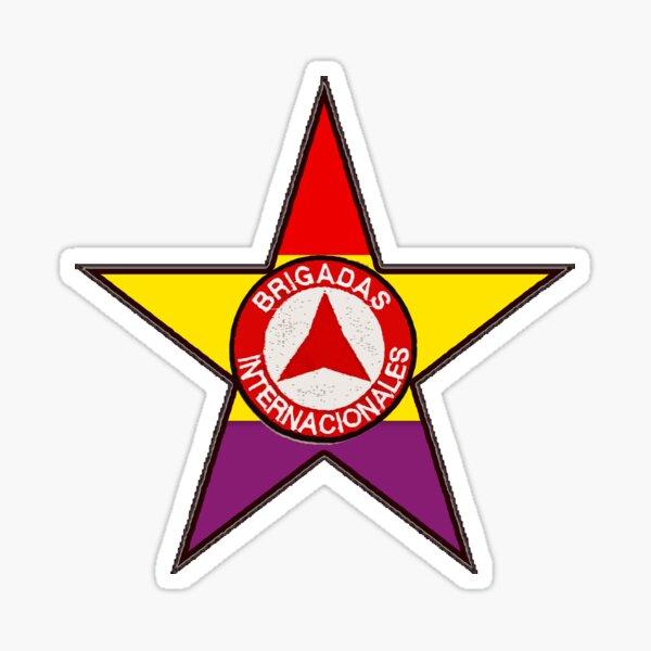 REPUBLICAN STAR INTERNATIONAL BRIGADES Sticker