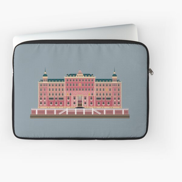 Grand Budapest Hotel Wes Housse d'ordinateur