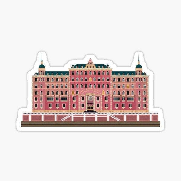 Grand Budapest Hotel Wes Sticker