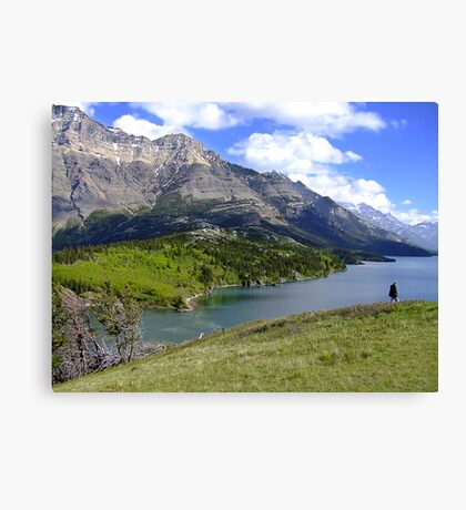 Bosporus and Upper Waterton Lake Canvas Print