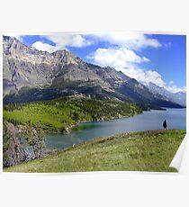 Bosporus and Upper Waterton Lake Poster