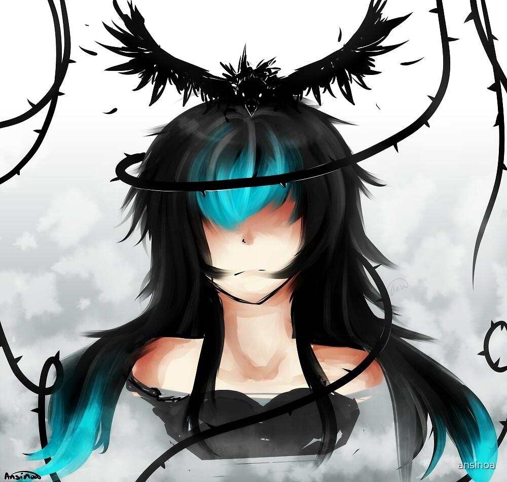 Raven by ansinoa