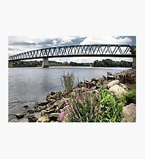 Spanning the Ohio River Photographic Print