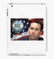 NICOLAS CAGE FOR PRESIDENT iPad Case/Skin