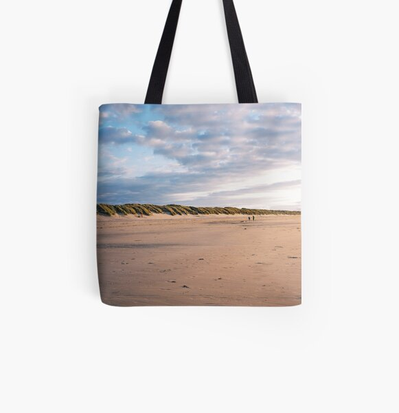 Sunset on the beach All Over Print Tote Bag