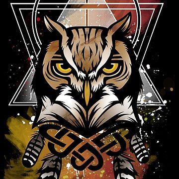 Mystic Owl by FatLizardStudio