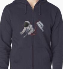 Astro Zombie Zipped Hoodie