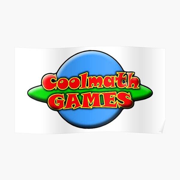 Cool Math Games Poster By Veloza Redbubble