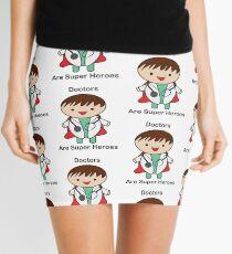 Doctors Are Super Heroes Mini Skirt