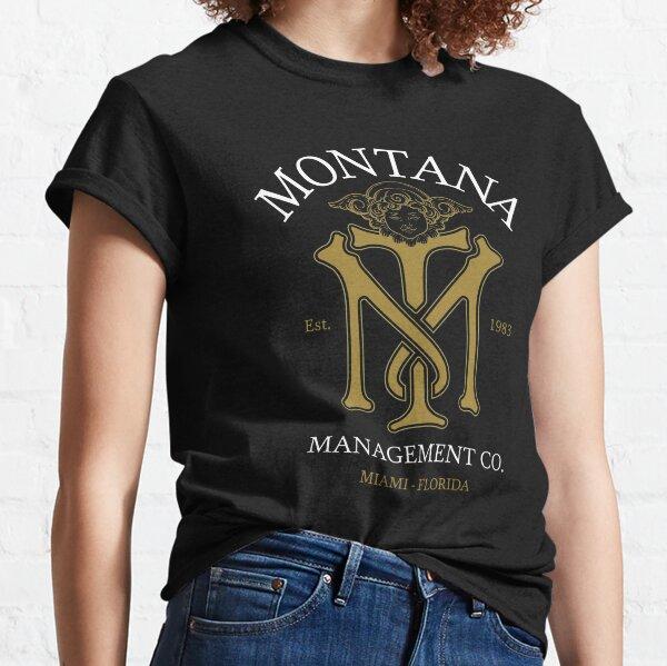 Montana Management Co. Blk White Variant Classic T-Shirt