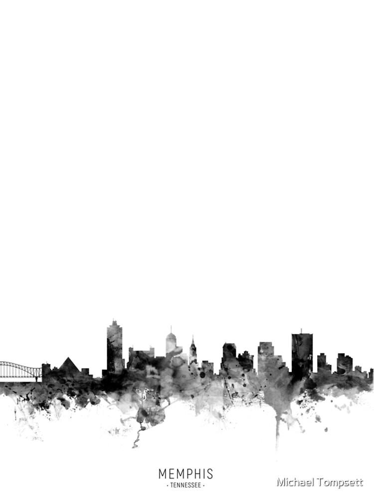Memphis Tennessee Skyline by ArtPrints