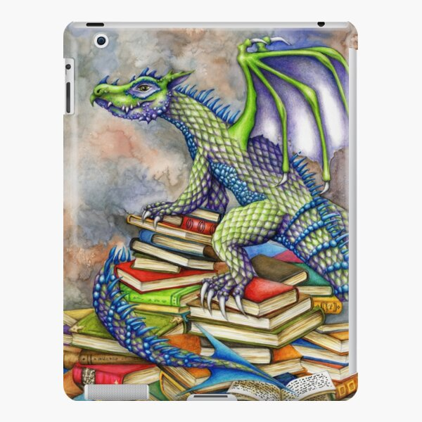 The Bookwyrm's Hoard iPad Snap Case