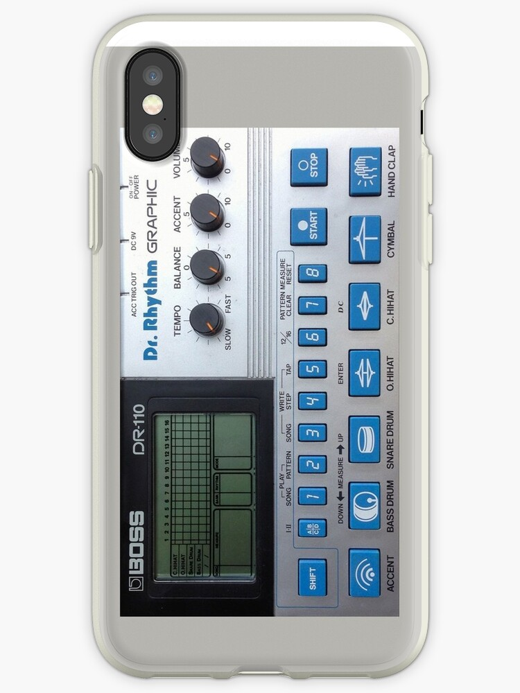Boss DR-110 Drum Machine by astropop