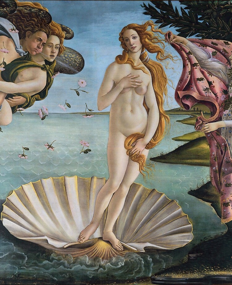 Coque Et Skin Adhesive Ipad Sandro Botticelli La Naissance De Venus Peinture Mythologique Par Argosdesigns Redbubble